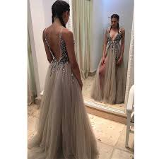 dresses for prom backless rhinestone prom dress tulle prom dresses prom
