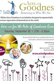 5 7 Billion by 7 Billion Acts Of Goodness Event Hh On Livestream