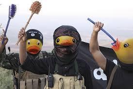 Meme Bebek - lawan terorisme tanpa kekerasan isis disulap jadi bebek