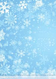 Fab Drops Winter Snowflake Backdrop
