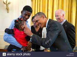 white house tours obama us president barack obama greets a little girl as he and vice stock