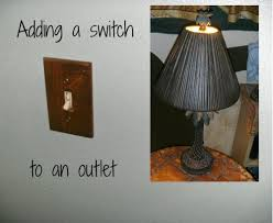 adding a switch to an electrical outlet dengarden
