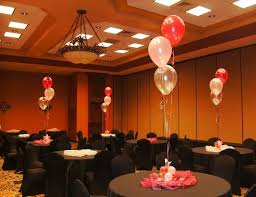 Balloons On Sticks Centerpiece by Centerpieces Balloon Bouquets Tall Floor Bouquets