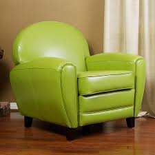 shop best selling home decor david modern green faux leather club