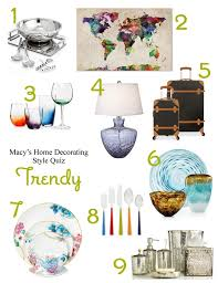 home decorating styles quiz what u0027s your registry style macy u0027s home decorating quiz