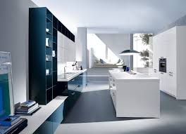 kitchen appealing minimalist shelves and lacquered white