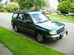 green subaru forester 2016 1999 subaru forester awd auto sales