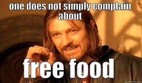 Free Food Meme - free food quickmeme