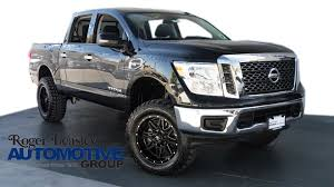 lifted nissan car 2017 nissan titan lifted for sale 18 used cars from 44 032
