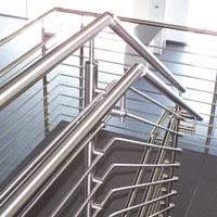 Handrailing Morse Industries L Stainless Steel Handrail Kits U0026 Glass Rail