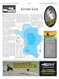 Map Of Saskatchewan Lenore Lake Angler U0027s Atlas