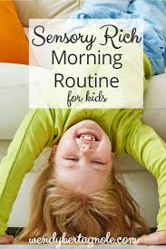 Sensory Seat Cushion A Sensory Rich Morning Routine For Kids Even If You U0027re A Non