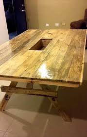 Pallet Dining Room Table Kitchen Classy How To Finish Pallet Wood Pallet Table Ideas Diy
