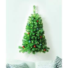 3 foot wall lighted tree domestify