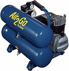 emglo am780 hc4v 2 hp electric air mate compressor stacked tank
