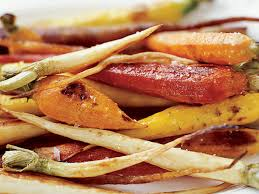 tricolor roasted carrots and parsnips recipe susan spungen