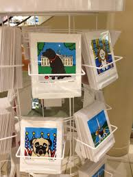 Oval Office Paintings by Presidential Pugs Cute Dog Art At Macy U0027s Two Dog Tales