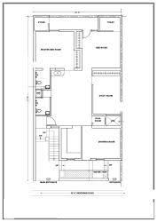 West Facing House Vastu Floor Plans Model Plan For West Facing Road