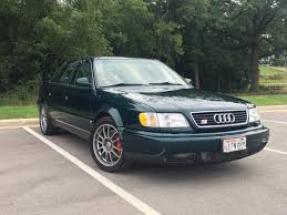 audi 1995 s6 no reserve 1995 audi s6 for sale on bat auctions sold for