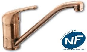 robinet cuisine cuivre vente en ligne de mitigeur monotrou évier vieux cuivre sur teoreme com