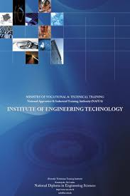 cover page for institute of engineering technology naita my