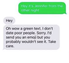 Text Message Memes - 25 best memes about green text green text memes