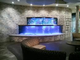 aquarium dezeen floor in house laav villa clessidra fish tank for