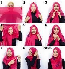 simple hijab styles tutorial segi empat 13 best tutorial hijab simple images on pinterest hijab outfit