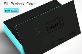 Business Cards With Foil Silk Business Cards With Edge Painting Business Cards By