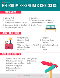 Bedroom Cleaning Checklist The Airbnb Host U0027s Ultimate Bedroom Checklist U2013 Bnbnomad