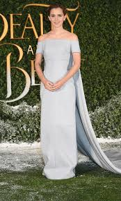 belle of the ball emma watson wears a fairy tale dress to the uk