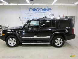 dark gray jeep 2010 jeep commander limited 4x4 in brilliant black crystal pearl