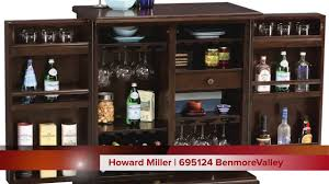 Flip Top Bar Cabinet Howard Miller Expandable Wine And Bar Cabinet 695124 Benmore