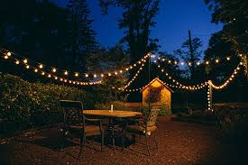 String Of Lights For Patio 100 Foot G40 Globe Patio String Lights With Clear