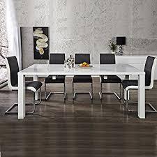 tavoli da sala da pranzo tavolo da pranzo tavolo per la sala da pranzo bianco lucido 120