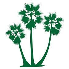 sugar palm tree svg cuttale design