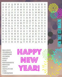 free new years puzzle printables daily dish magazine recipes