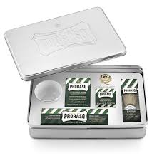 Old Fashioned Shave Kit Proraso Classic Shaving Set In Presentation Tin Box Barbers U0026 Groomers