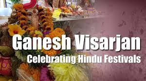 Thanksgiving In Toronto Ganesh Visarjan Celebrating Hindu Festivals In Toronto Youtube