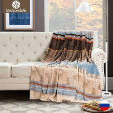 jeter un canapé naturelife douce des couvertures chaudes é couvre lits couverture