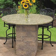 Patio Bistro Table Patio Pub Bistro Tables Cambridge Pavingstones Outdoor