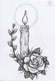 heart and flowers tattoo best 25 candle tattoo ideas only on pinterest tattoo flash