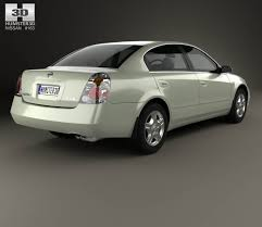 nissan altima 2002 custom nissan altima s 2002 3d model hum3d