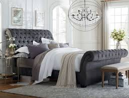 Best Try This Trend Upholstered Headboards Images On Pinterest - King size bedroom sets art van