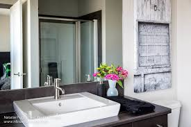 Delta Trinsic Bathroom Faucet by Natalie Fuglestveit Interior Design Calgary Alberta Based
