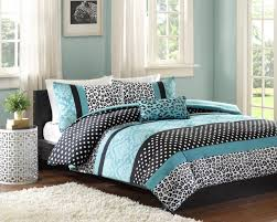 Animal Print Furniture by Amazon Com Comforter Bed Set Teen Bedding Modern Teal Black