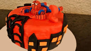 cake spiderman cake design youtube