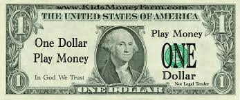 play money template fake money for kids printable sheets play