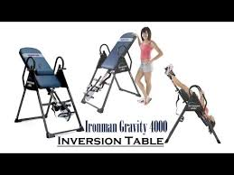 ironman gravity 4000 inversion table ironman gravity 4000 inversion table best inversion table