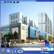 prefabricated steel structure shopping mall buy prefabricated